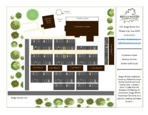Briggs Woods Conference Center site plan